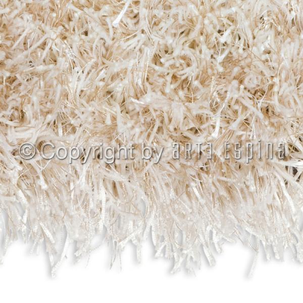 tapis shaggy écru arte espina beat