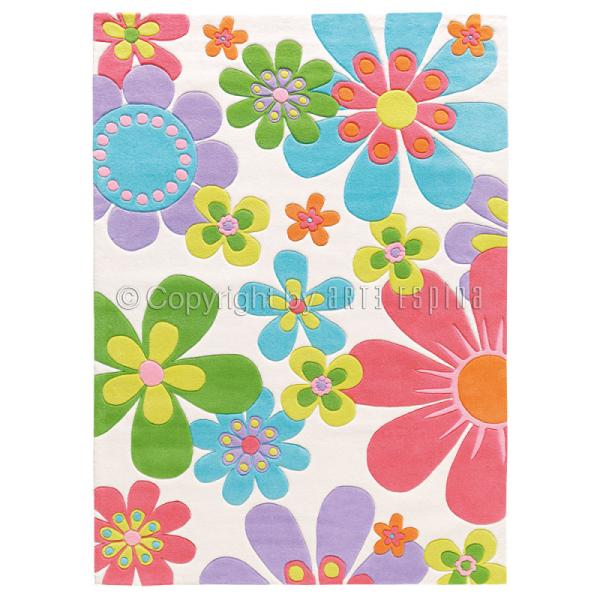 tapis floral splash multicolore arte espina 70x140. Black Bedroom Furniture Sets. Home Design Ideas