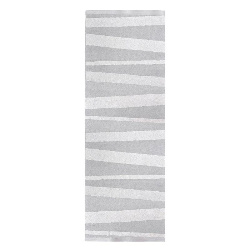 tapis de couloir rayé gris et blanc are sofie sjostrom design