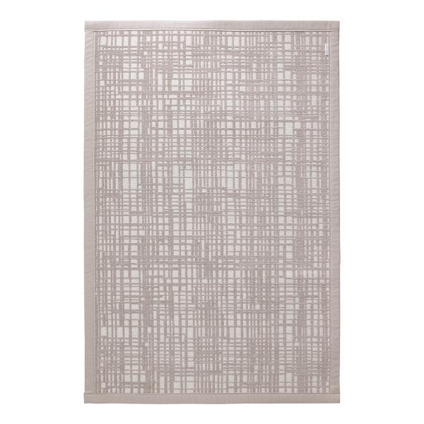 tapis de bain beige graficule esprit home
