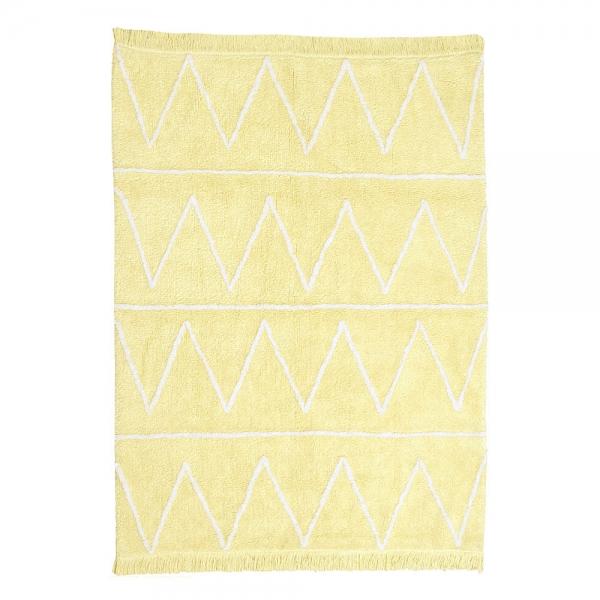 tapis enfant hippy soft jaune lorena canals