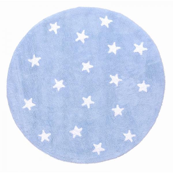 tapis enfant cielo bleu lorena canals 140x140. Black Bedroom Furniture Sets. Home Design Ideas