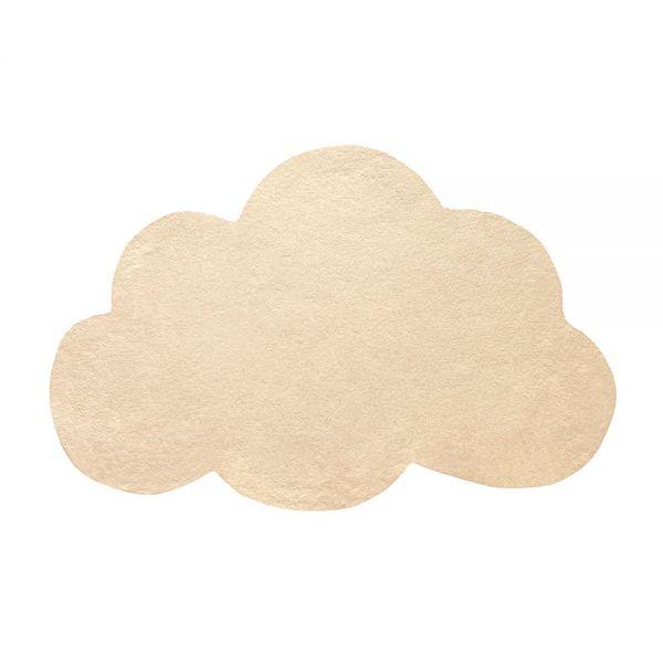 tapis enfant nuage cornhusk jaune lilipinso