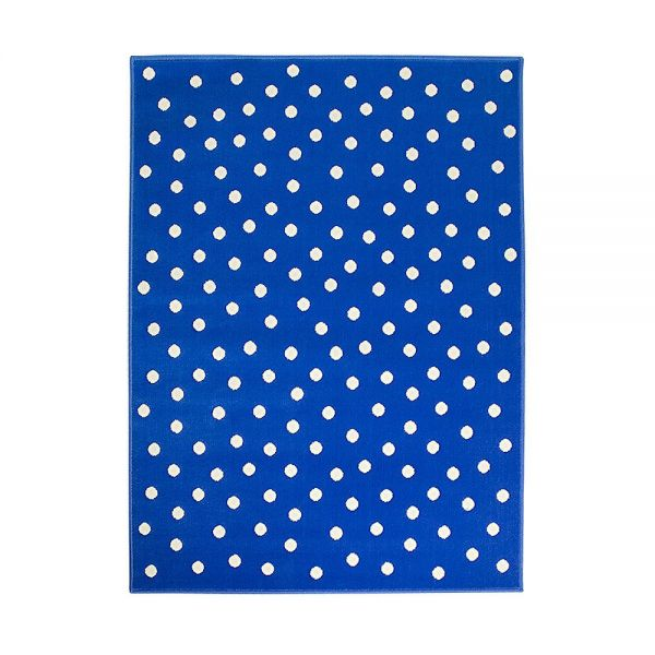 tapis enfant dot bleu lorena canals