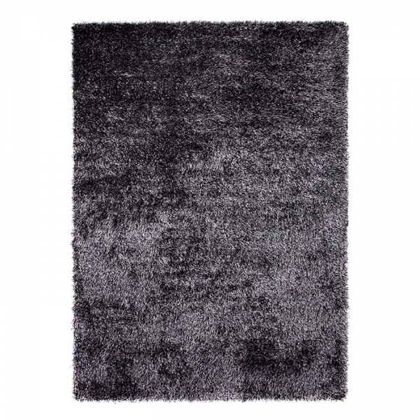 tapis shaggy cosy glamour anthracite esprit home