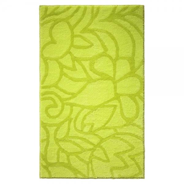 tapis de bain vert flower shower esprit home