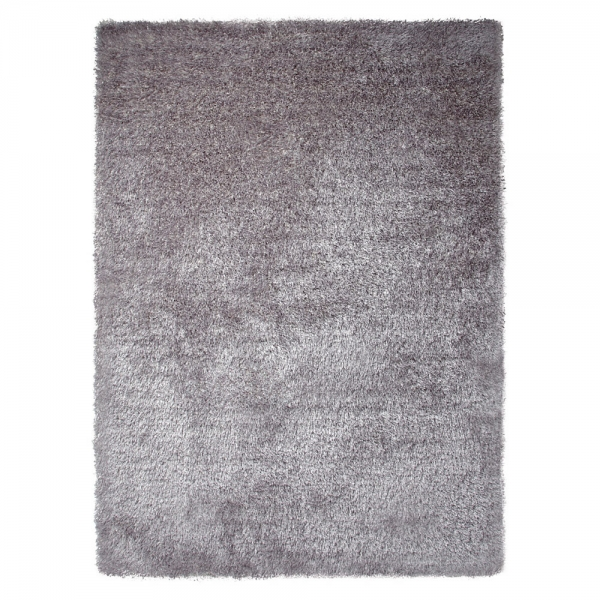 tapis moderne new glamour argent esprit home