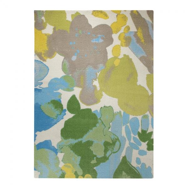 tapis spring flower esprit home beige multicolore