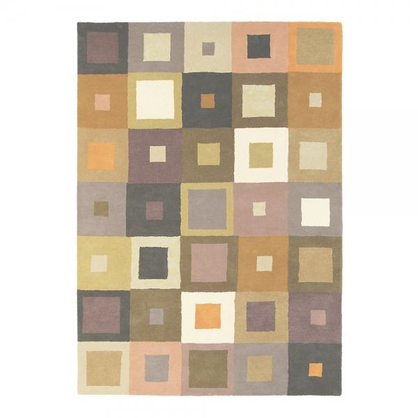 tapis estella carre beige pure laine brink campman 160x230. Black Bedroom Furniture Sets. Home Design Ideas