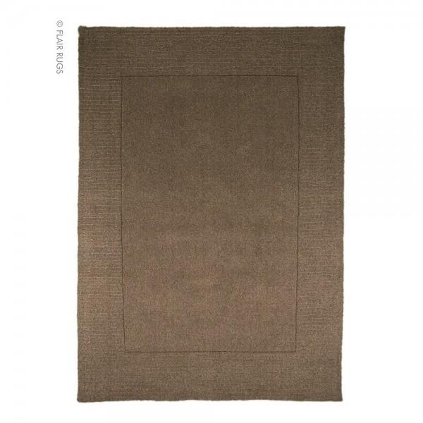 tapis flair rugs siena taupe