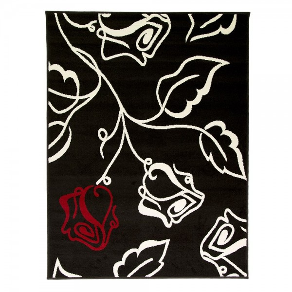 tapis flair rugs solo noir