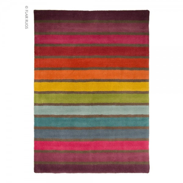 Tapis Laine Tuft Main Multicolore Candy Flair Rugs 120x170