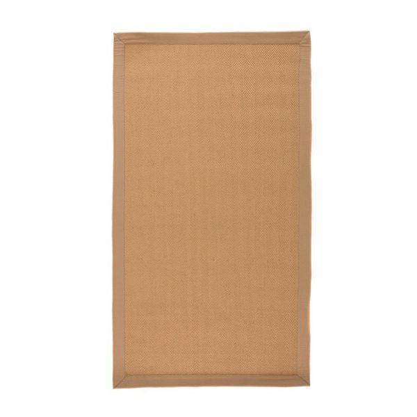 tapis antidérapant flair rugs beige herringbone