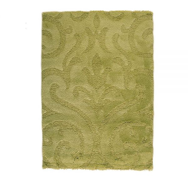 tapis shaggy vert beryl flair rugs 120x170. Black Bedroom Furniture Sets. Home Design Ideas