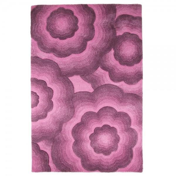 Tapis En Laine Fait Main Violet Realm Flair Rugs 120x180