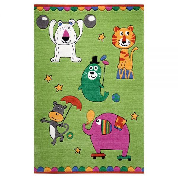 tapis vert enfant smart kids little artists