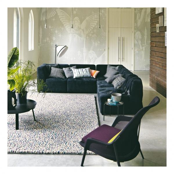 tapis pure laine vierge stone parme brink campman 140x200. Black Bedroom Furniture Sets. Home Design Ideas