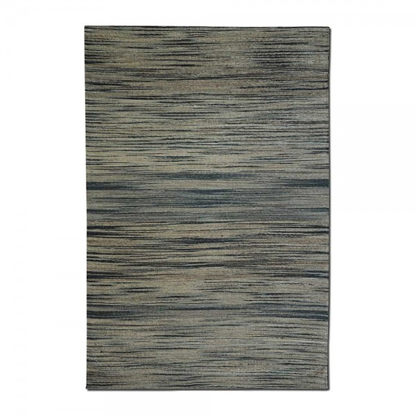 Tapis Tiss Main Shiro Beige Et Noir The Rug Republic 160x230
