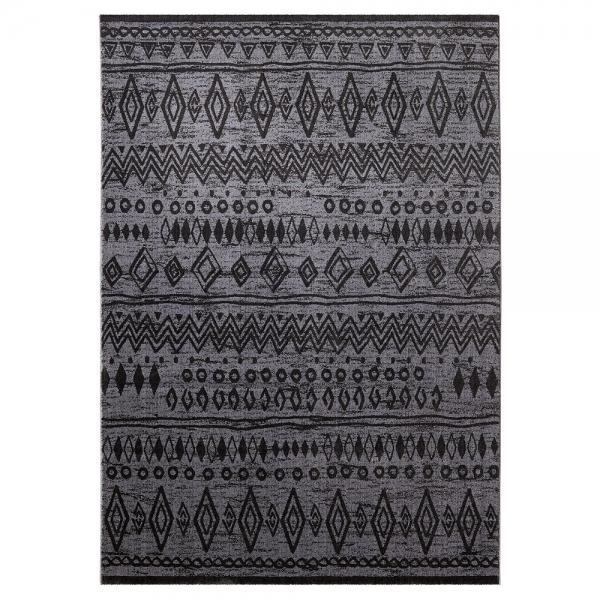 tapis contemporary kelim anthracite 80x150 esprit home. Black Bedroom Furniture Sets. Home Design Ideas
