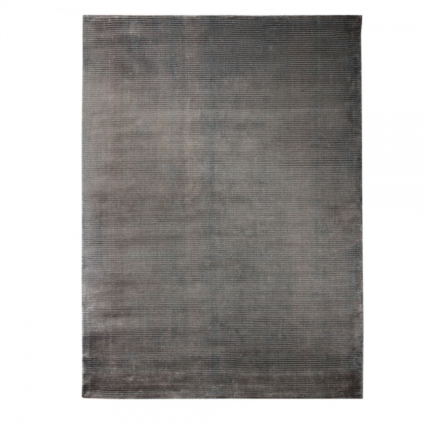 tapis tissé main bleu et gris mirage home spirit