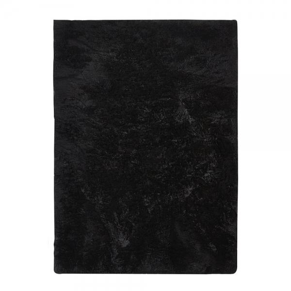 tapis shaggy vision noir home spirit 170x230. Black Bedroom Furniture Sets. Home Design Ideas