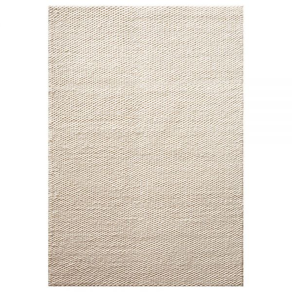 tapis down to earth moderne smoothy blanc