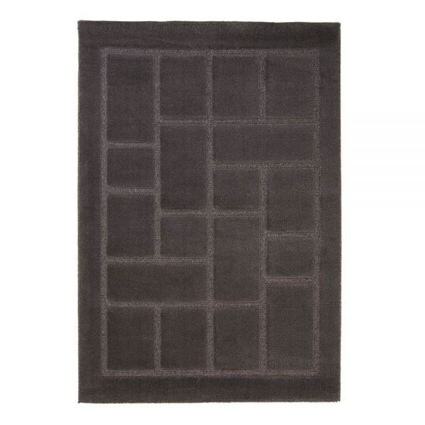 tapis moderne gris 4304 flair rugs 80x150. Black Bedroom Furniture Sets. Home Design Ideas
