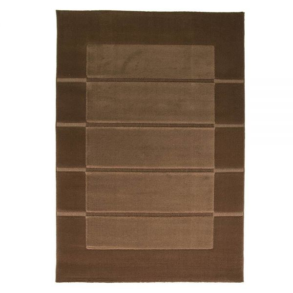 tapis moderne marron 4311 flair rugs