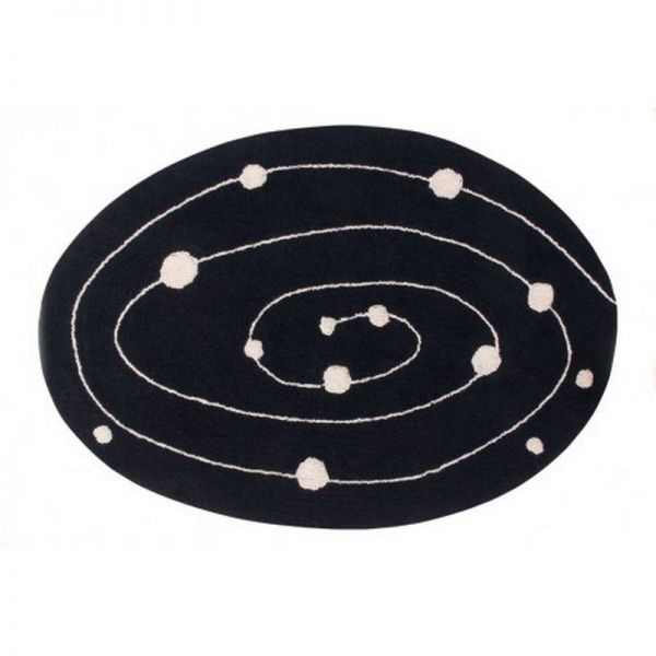 tapis lavable milky way 140x200 - lorena canals