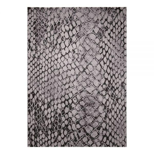 tapis gris moderne snake wecon