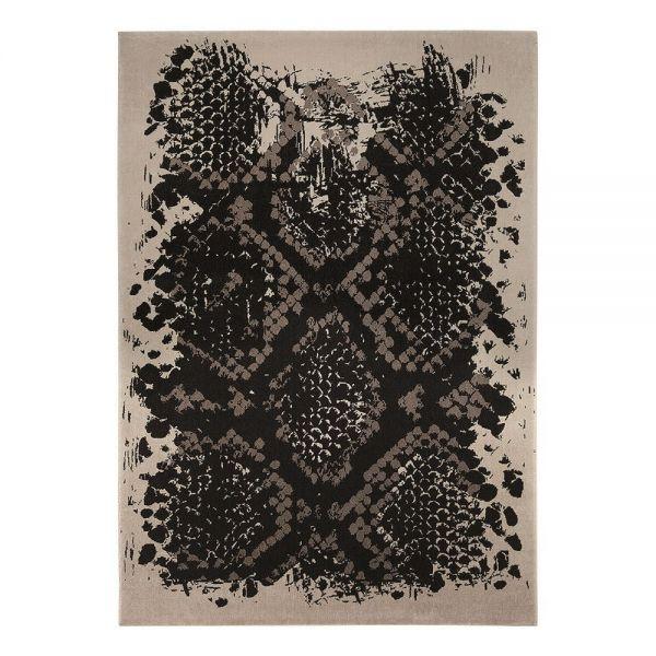 tapis moderne wecon python beige