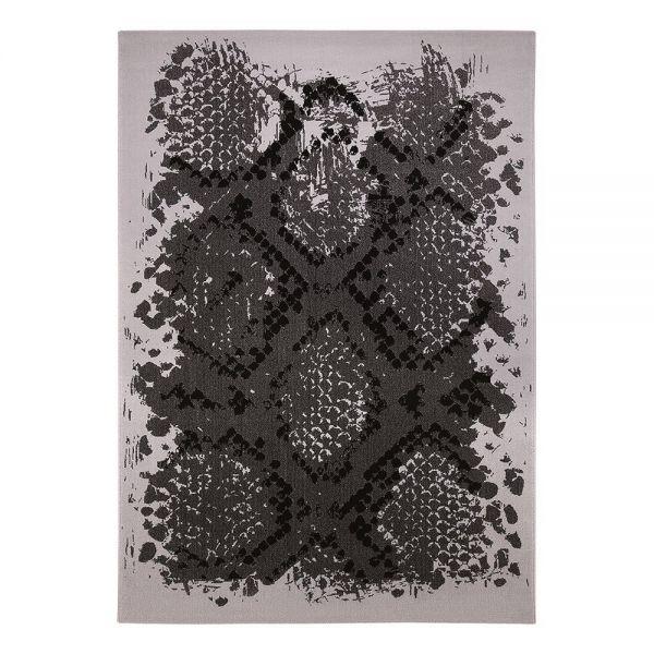 tapis moderne wecon python gris