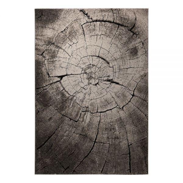 tapis wecon wild oak moderne marron