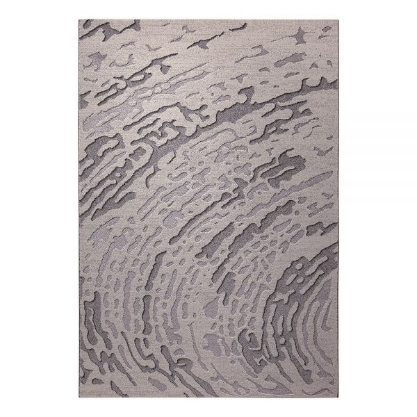 tapis moderne gris wecon forest