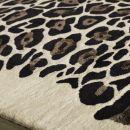 Tapis moderne Leopard Angelo beige