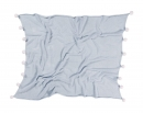 couverture bébé bubbly soft blue - lorena canals