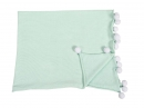 Couverture Bébé Bubbly Soft Mint - Lorena Canals