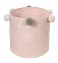 Panier en coton Bubbly Pink - Lorena Canals
