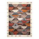 Tapis multicolore Modern Berber Wecon