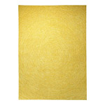 tapis carré colour in motion jaune esprit home