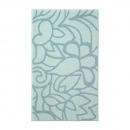 tapis de bain turquoise flower shower esprit home