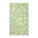 tapis de bain vert esprit home flower shower