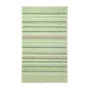 tapis de bain esprit home vert cool stripes