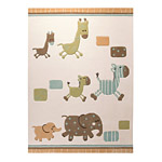 Tapis enfant beige Esprit Home LUCKY ZOO