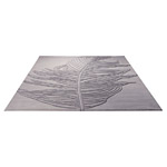 Tapis moderne Esprit Home FEATHER gris