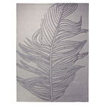 Tapis FEATHER gris moderne Esprit Home