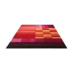 Tapis VARIOUS BOX Rouge et Orange - Esprit Home