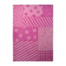 Tapis Stars and Stripes rose Esprit Home