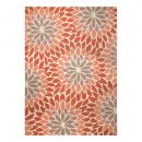 Tapis moderne Lotus orange Esprit