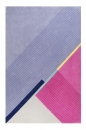 Tapis XAZ Cool Noon / Summer Bleu et Rose Esprit